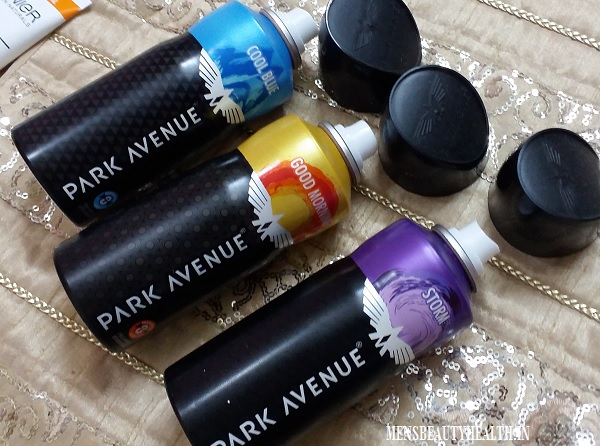 Park Avenue Deodorants Review In Strom, Good Morning and Cool Blue 2