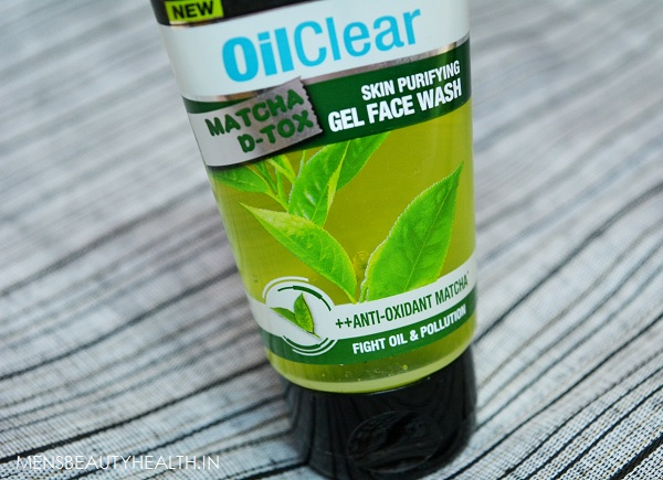 Garnier Men Oil Clear Matcha D-Tox Face Wash Review