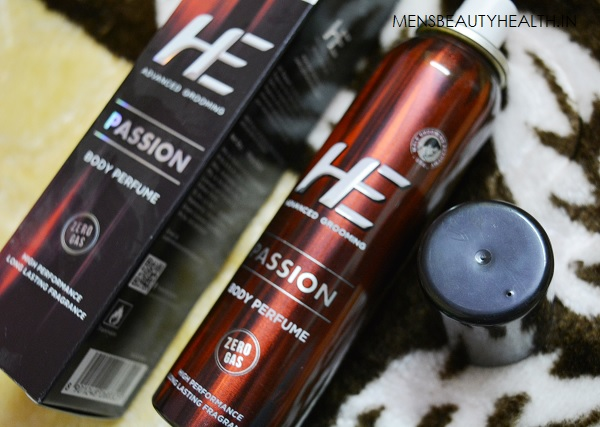 He Body Perfume Deodorant in Passion Review