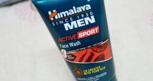 Himalaya Men Active Sports Face Wash Review