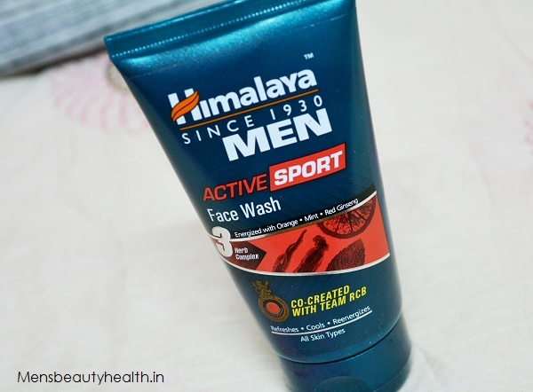 Himalaya Men Active Sports Face Wash Review