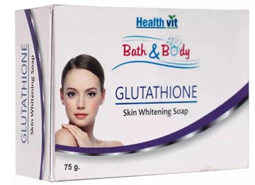 Healthvit Bath & Body Glutathione Skin Whitening Soap