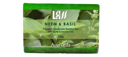 Lass Naturals Neem & Basil Soap