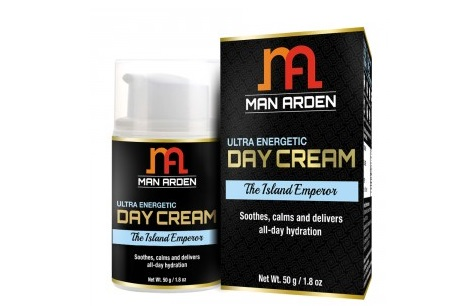 Man Arden Ultra Energetic Day Face Cream The Island Emperor