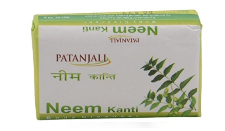Patanjali Kanti Neem Body Cleanser Soap
