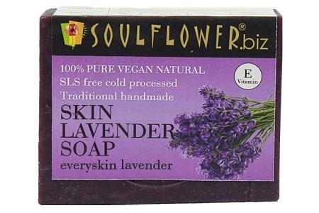 Soulflower Skin Lavender Soap