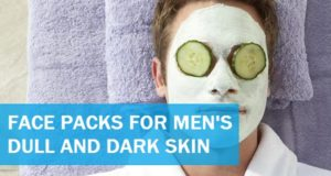 face packs for men's dull dark skin