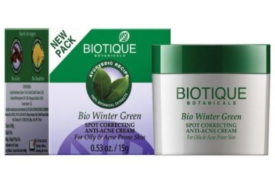 Biotique Bio Winter Green Spot Correcting Anti-acne cream