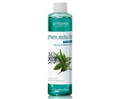 Oriflame Pure Nature Organic Tea Tree and Rosemary Purifying Wash