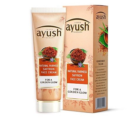 Ayush Natural Fairness Saffron Face Cream