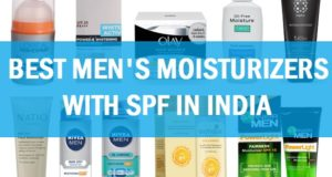 Best men's moisturiser with SPF in india