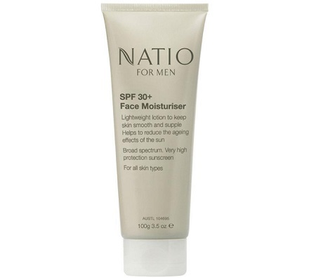 Natio For Men SPF 30+ Face Moisturiser