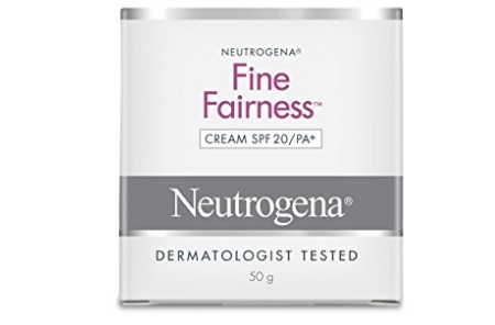 Neutrogena Fine Fairness Cream SPF20