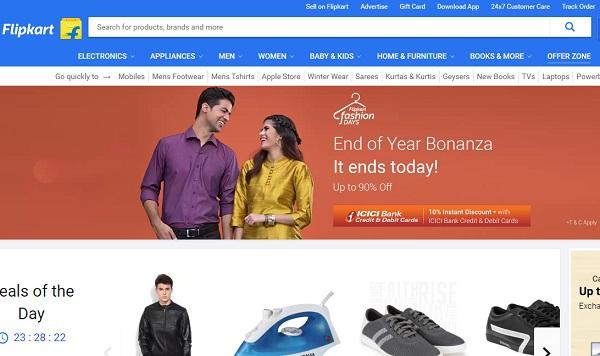 flipkart online shopping sites