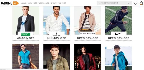 jabong online shopping sites