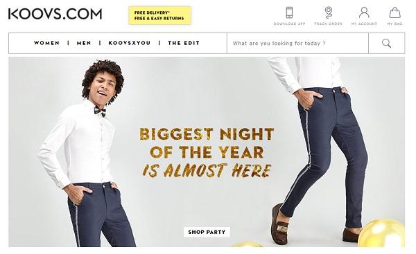 koovs online shopping sites