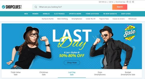 online shopping sites for men