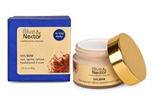 Blue Nectar Ayurvedic Sandalwood & Saffron Anti Ageing