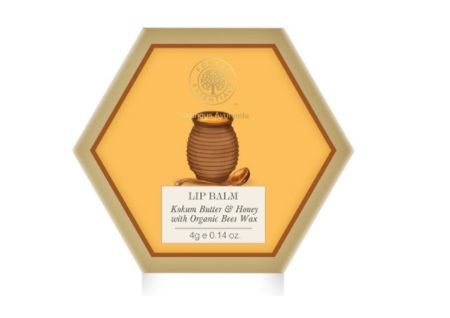 Forest Essentials Luscious Kokum and Honey Lip Balm