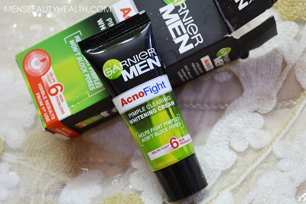 Garnier Men Acno Fight Pimple Clearing Whitening Cream 8