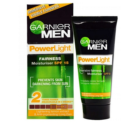 Garnier Men Power Light Intensive Fairness Moisturizer SPF15