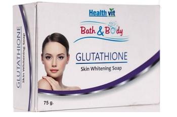 HEALTHVIT Glutathione Skin Whitening Soap