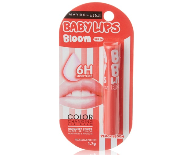 Maybelline Baby Lips Color Changing Lip Balm Peach Bloom