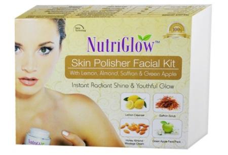 NutriGlow Skin Polisher Facial Kit