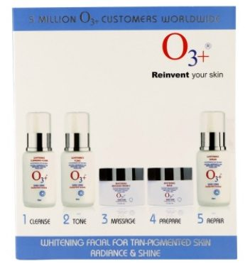 O3+ Whitening Facial Kit
