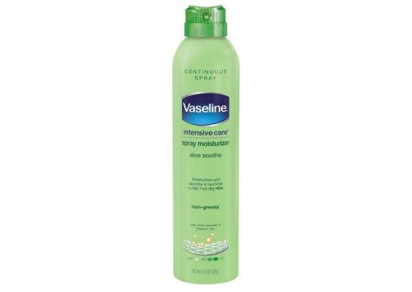 Vaseline Intensive Care Aloe Soothe Spray Moisturizer