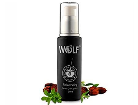 Wolf Rejuvenating Beard Growth Oil