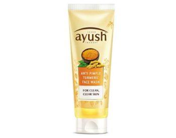 Ayush Anti Pimple Turmeric Face Wash