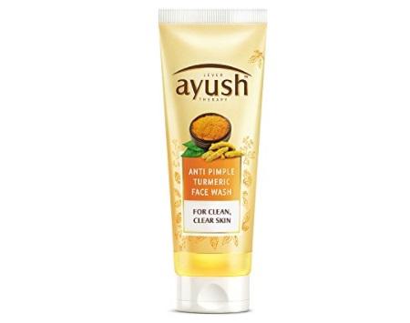 ayush turmeric face wash