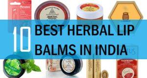 best herbal lip balm in india