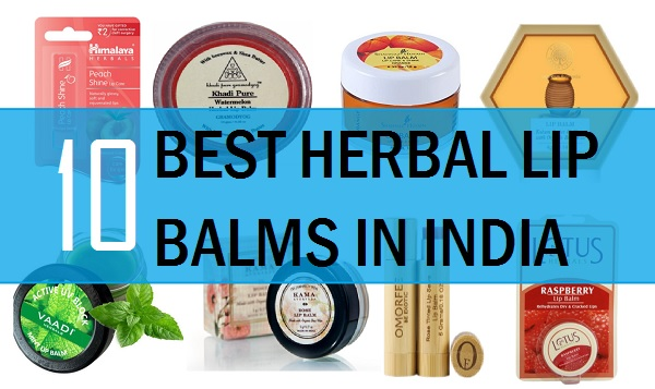best herbal lip balm in india