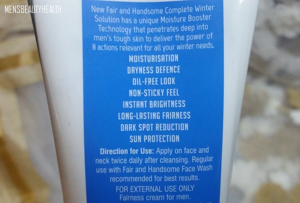 fair and handsome winter farness cream review 7