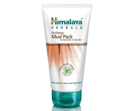 himalaya oil clear mud pack