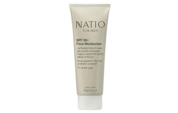 Natio for Men SPF 30+ Face Moisturiser