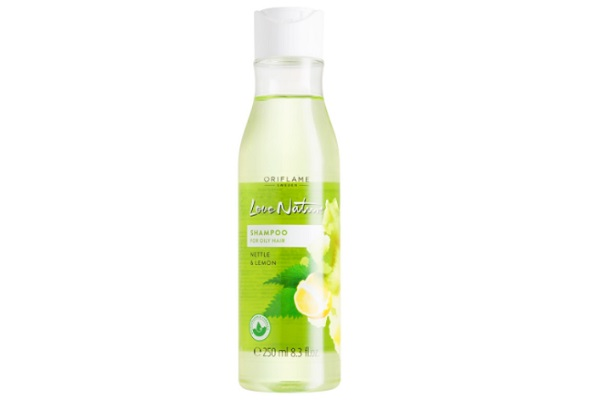Oriflame Love Nature Shampoo for Oily hair with Nettle & Lemon