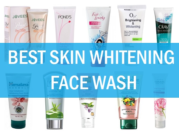 best skin whitening face wash in india