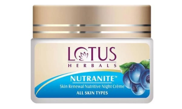 lotus herbal nutranite cream