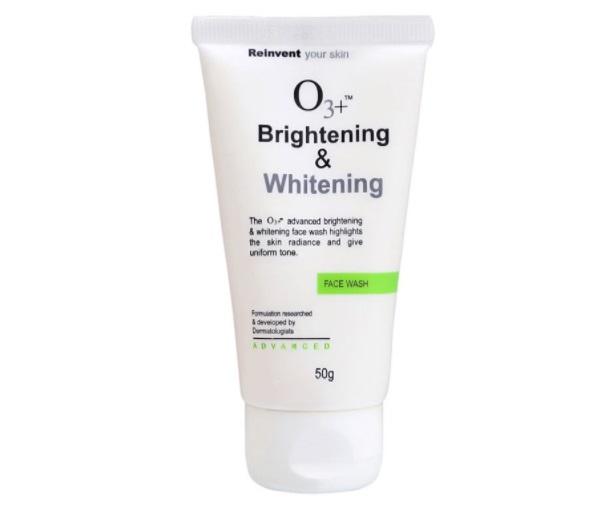 o3 whitening face wash