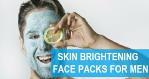 skin brightening face packs for men at home