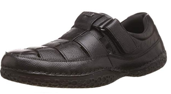 Dr. Scholl's Men's Thomas Leather Athletic and Outdoor Sandals