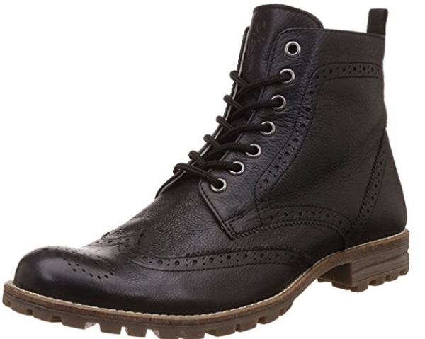 United Colors of Benetton Men's Leather Boots