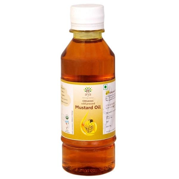 Arya Farm 100% Certified Organic Cold Pressed Mustard Oil