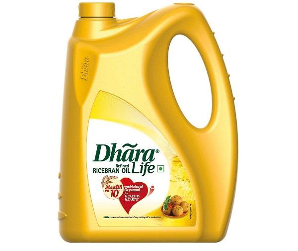 Dhara Life Refined Ricebran Oil