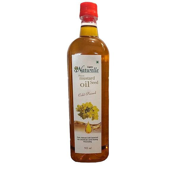 Farm Naturelle (Farm Natural Produce) Cold Pressed Virgin Kachi Ghani Virgin Mustard Oil