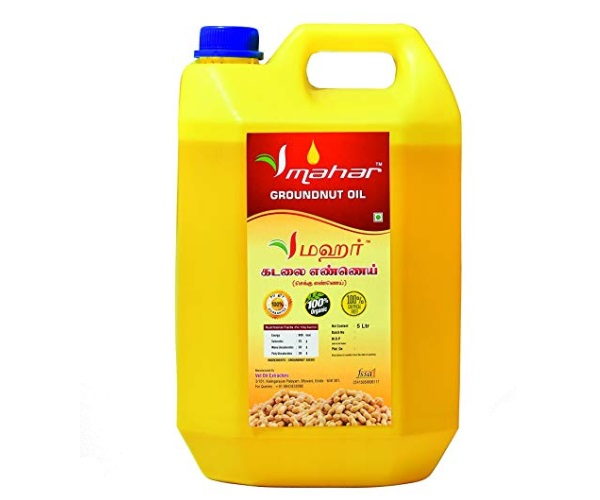 Mahar Cold Pressed Groundnut Oil