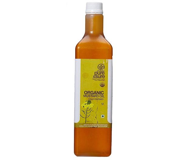 Pure & Sure Organic Mustard Oil